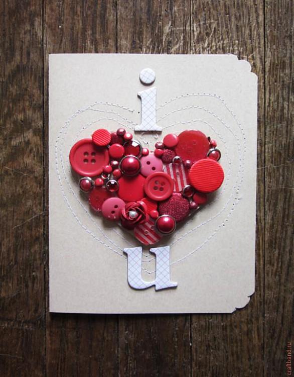 Подарки на день святого валентина своими руками крючком