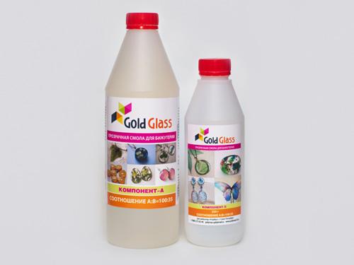 эпоксидная смола Gold Glass
