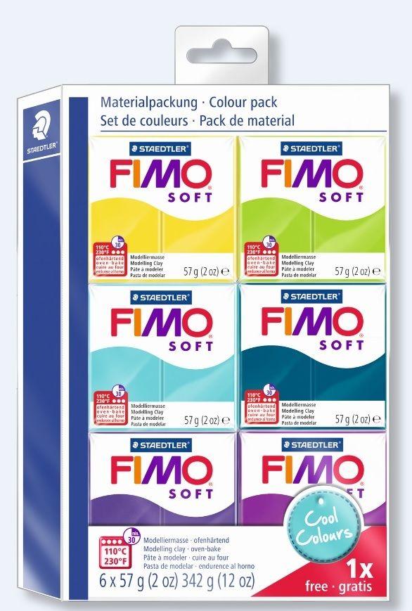 набор полимерной глины Fimo Холодные цвета