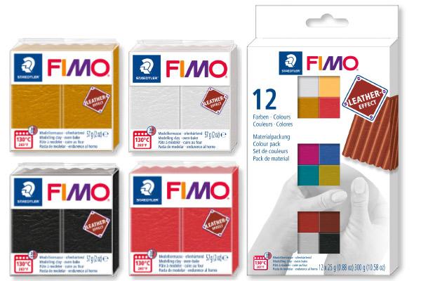 Полимерная глина Fimo Leather effect