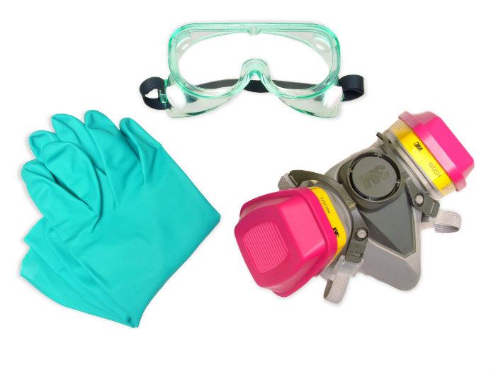 Защитные средства при работе с полимерной глиной