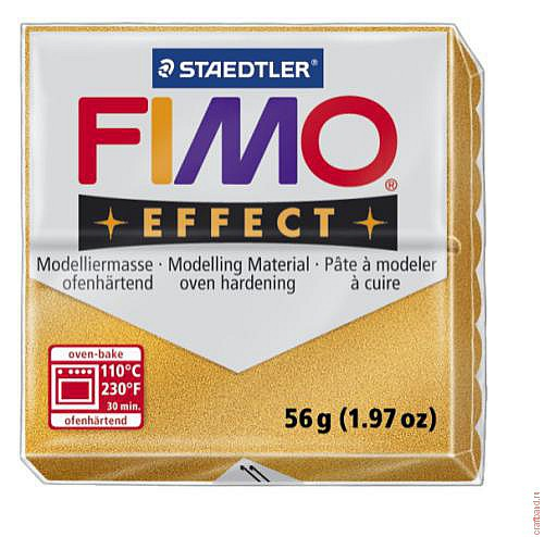 Fimo Effect 8020-11 metallic gold