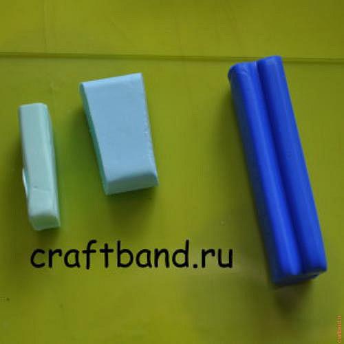 три цвета глины