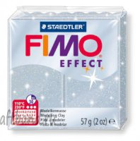 Полимерная глина Fimo Effect 8020-812 glitter silver