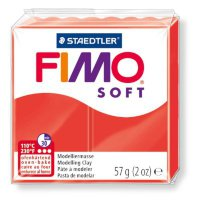 Полимерная глина Fimo Soft 8020-24 Indian red